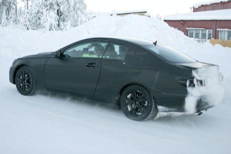 De nuevo, cazado: Mercedes CLK