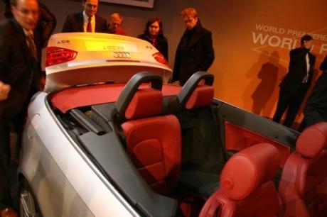 Fotos en directo del nuevo Audi A3 Cabrio