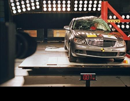 Mercedes Clase C Euro NCAP