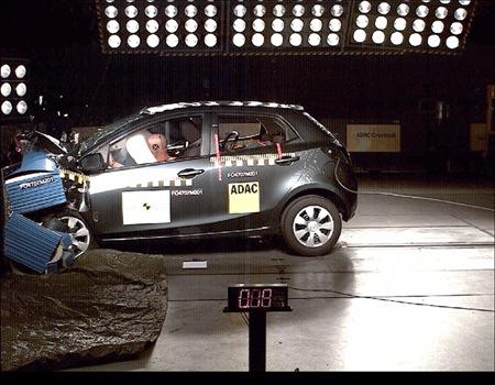 Mazda2 Euro NCAP