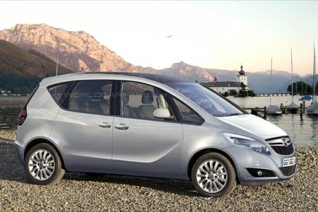 El nuevo Opel Meriva contará con puertas suicidas