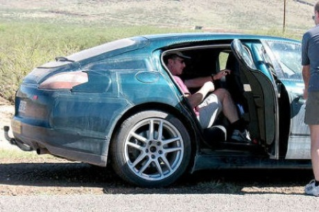El Porsche Panamera vuelve a aparecer