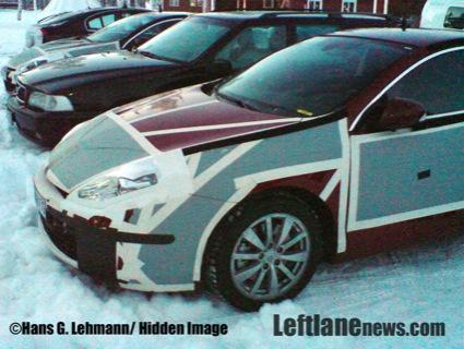 Fotos espías del Renault Laguna Coupé