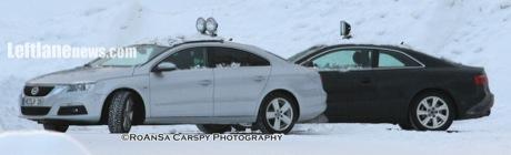 Volkswagen Passat Coupé, al descubierto
