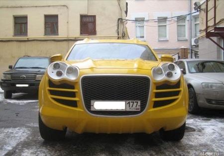 """Porsche Cayenne, edición """"alien amarillo"""""""
