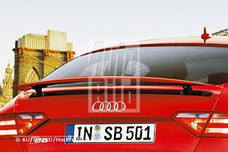 Audi A5 Sportback, ¡confirmado!