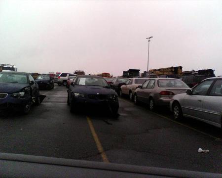 Accidente BMW