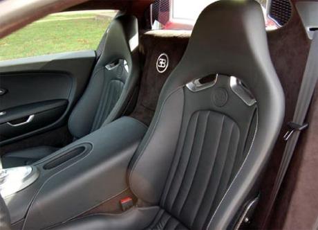 Bugatti Veyron en rojo