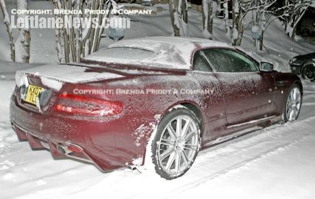 Aston Martin DBS Volante: primeras fotos espías