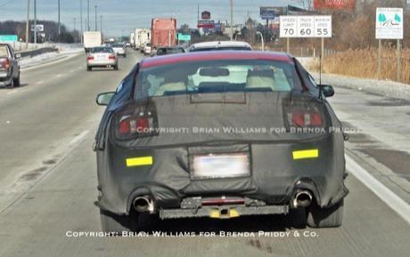 Más fotos espía del próximo Ford Mustang