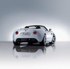 Alfa 8C Spider de producción, imágenes oficiales del pre-salón de GInebra