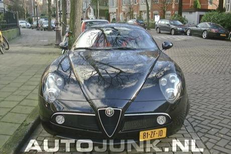 Fotos en directo del Alfa 8C, ¿te decepciona?