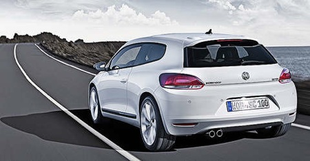 Más información sobre el Volkswagen Scirocco de producción