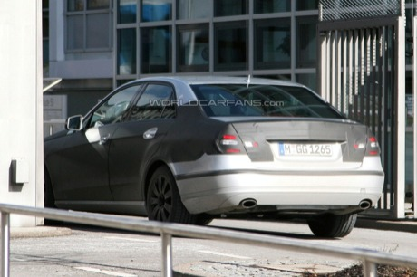Más fotos espía del nuevo Mercedes Clase E