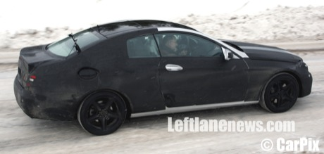De nuevo, cazado: nuevo Mercedes CLK