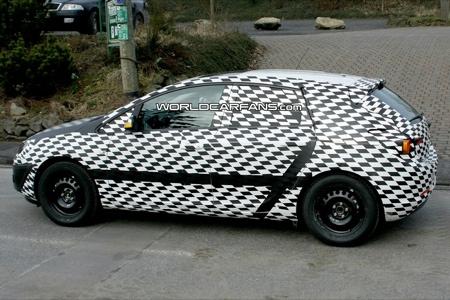 Fotos espía del nuevo Opel Astra