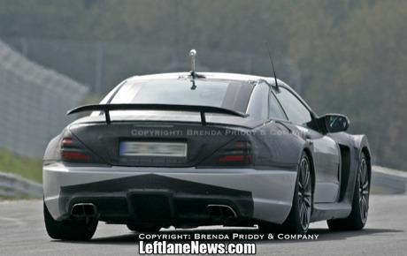 Fase final: Mercedes SL AMG Black Series