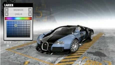 Bugatti Veyron NFS ProStreet