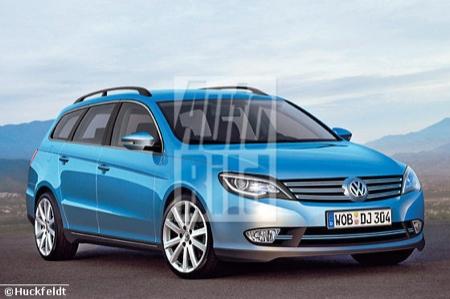 Recreaciones del Volkswagen Passat 2011
