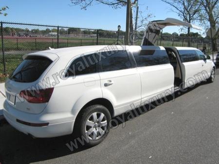 Audi Q7 transformado en limusina