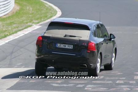 El mini Cayenne se pasea por Nurburgring