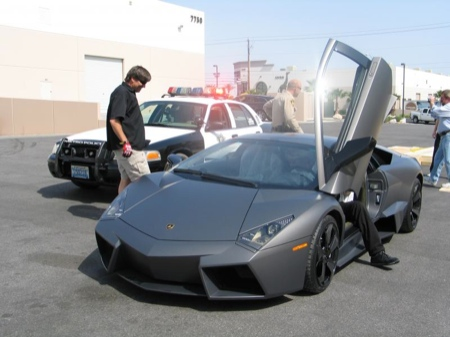 El empaquetado del Lamborghini Reventón