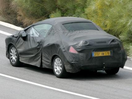 Peugeot 308 CC, nuevas fotos espía