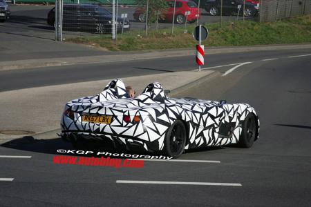 McLaren SLR Speedster, nuevas fotos espía