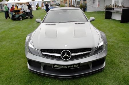 Mercedes SL 65 AMG Black Series, fotos en vivo
