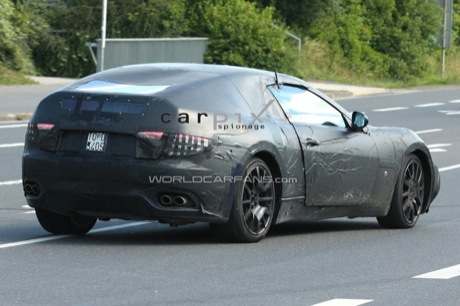 Fotos espía del nuevo Maserati Spyder