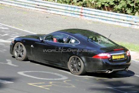 Jaguar XK ¿híbrido?, nuevas fotos espía