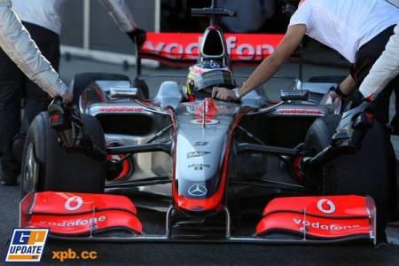 Se van desvelando los misterios: el nuevo morro del McLaren