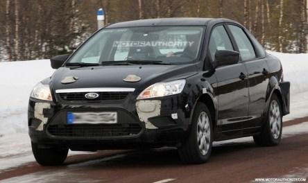 Primeras imágenes de lo que podría ser el nuevo Ford Focus