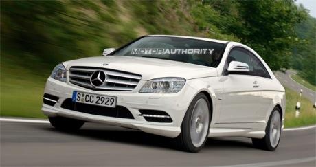 Cada vez más cerca: Mercedes Clase C Coupé avances