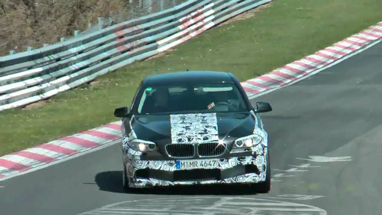 2011 BMW M5 spied on the Ring