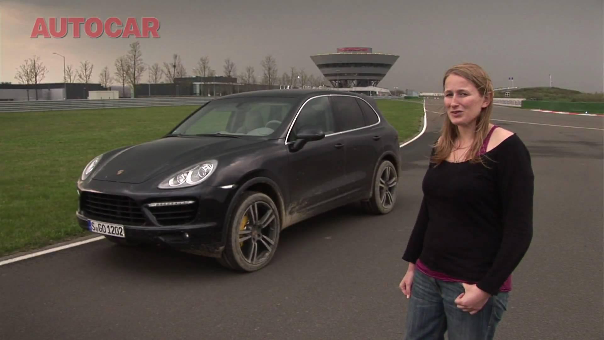 Porsche Cayenne drive review by autocar.co.uk