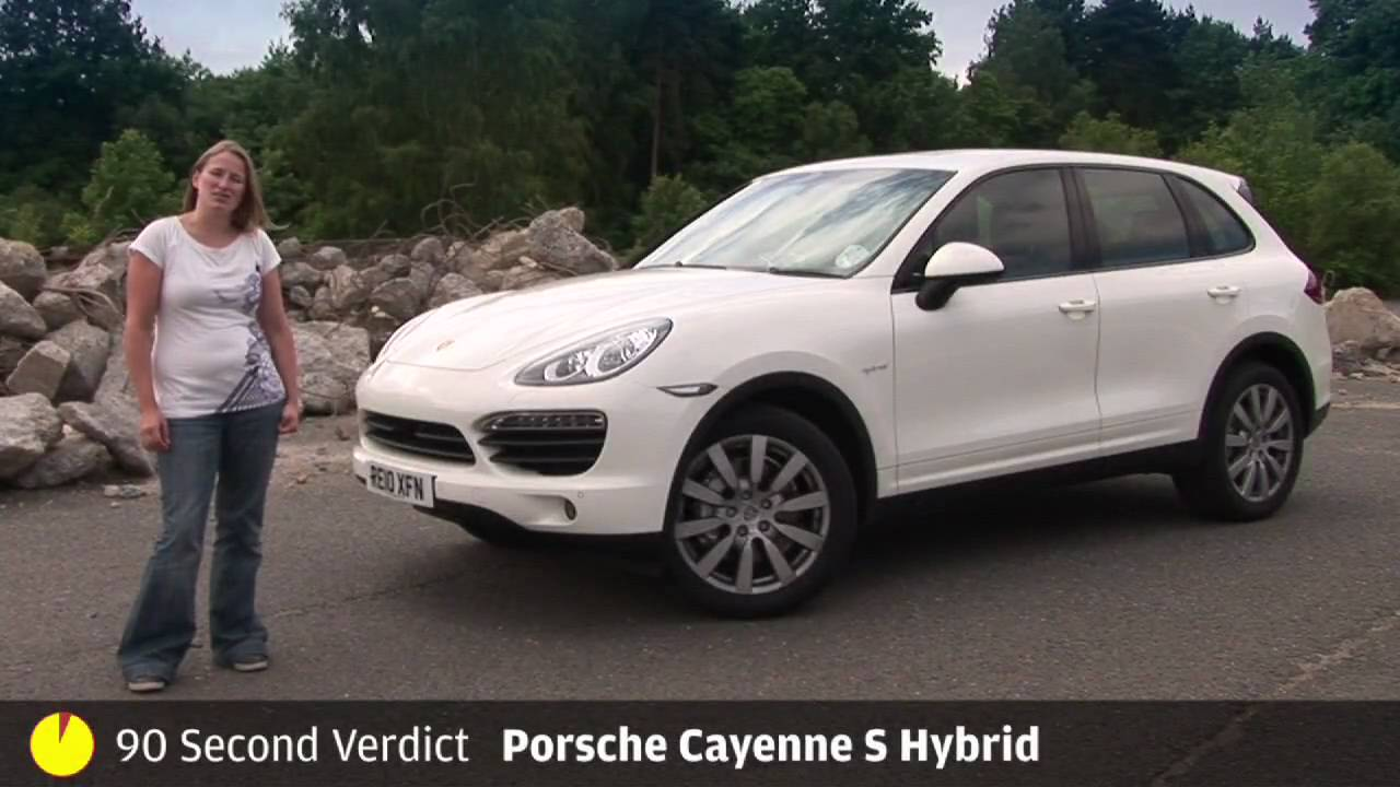 Porsche Cayenne S Hybrid - 90sec review by autocar.co.uk