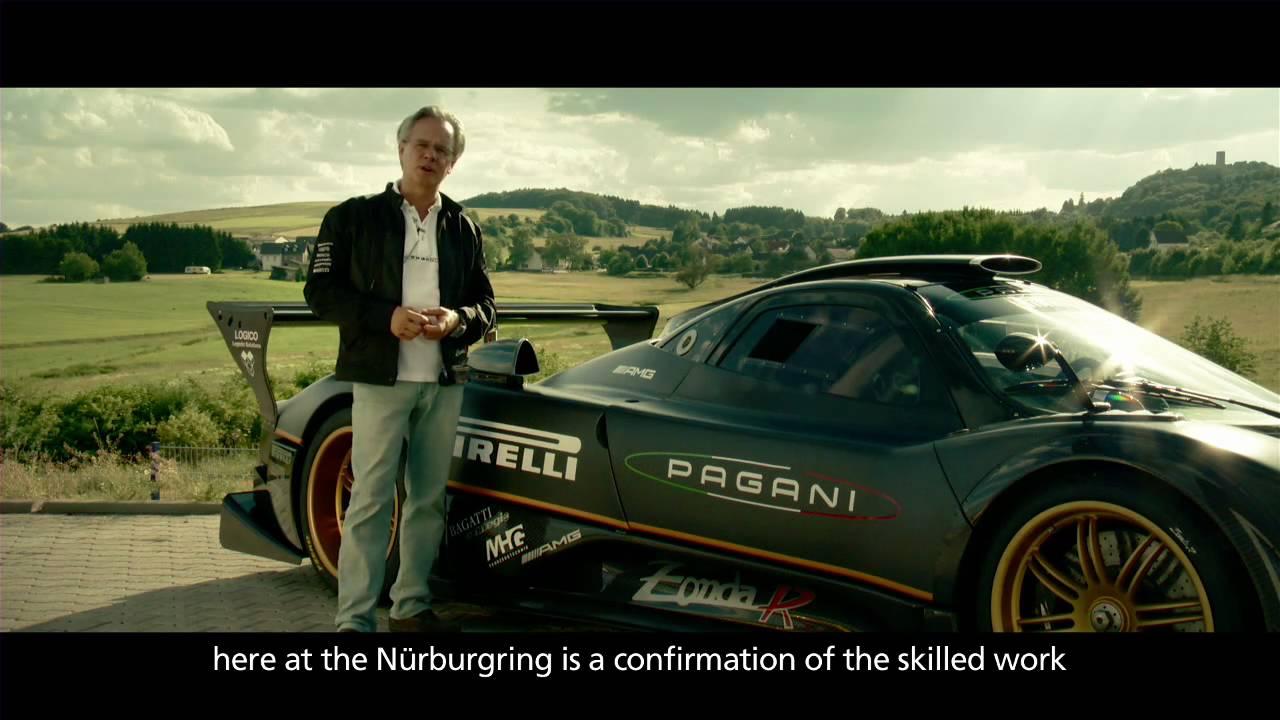 Pagani Zonda R - Nurburgring documentary