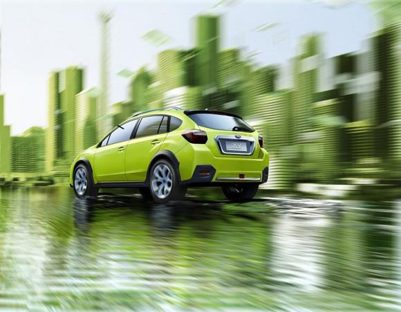 Subaru presenta el XV Concept