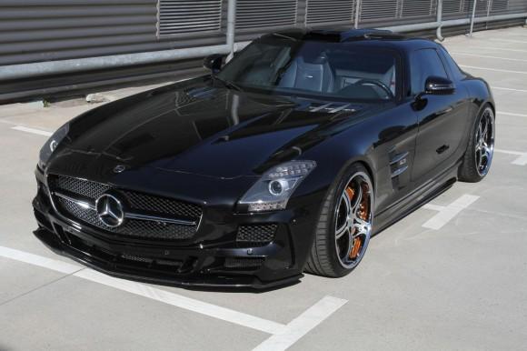 MEC Design nos muestra su Mercedes SLS AMG más despreocupado