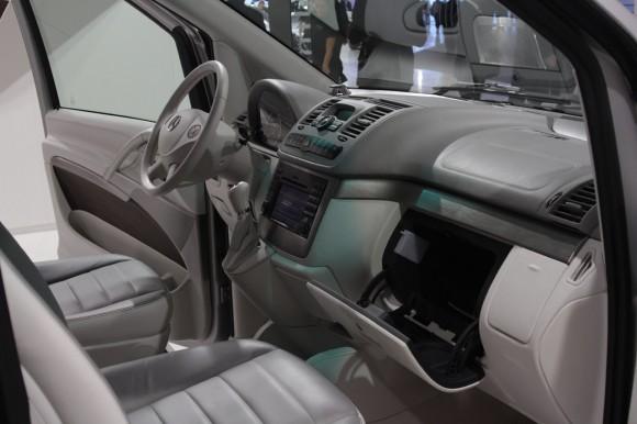 Frankfurt 2011: Mercedes Viano Vision Pearl Concept
