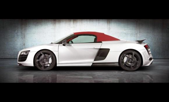 Mansory se atreve con el Audi R8 V10 Spyder