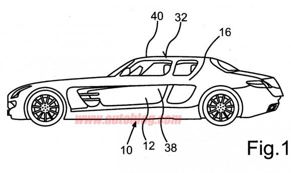 Mercedes registra una curiosa patente