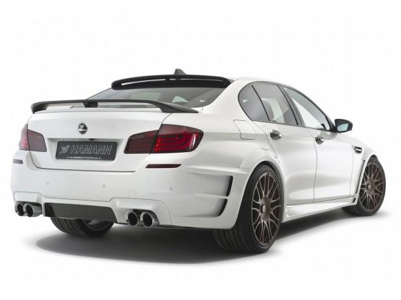 BMW M5 bajo el rodillo de Hamann