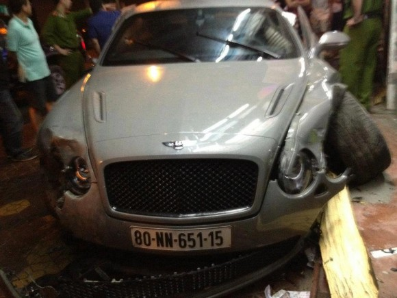 Accidente: Bentley Continental Supersports