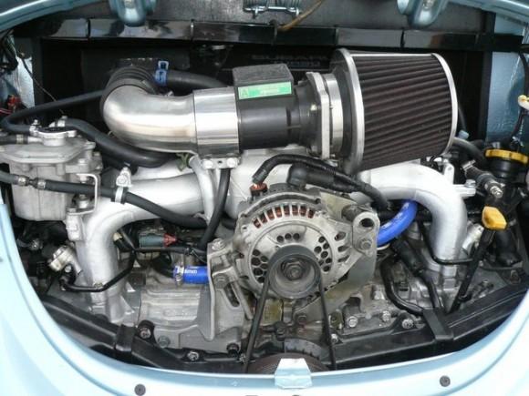 Volkswagen Beetle de 1973 con motor Subaru WRX STI 2.0 Turbo