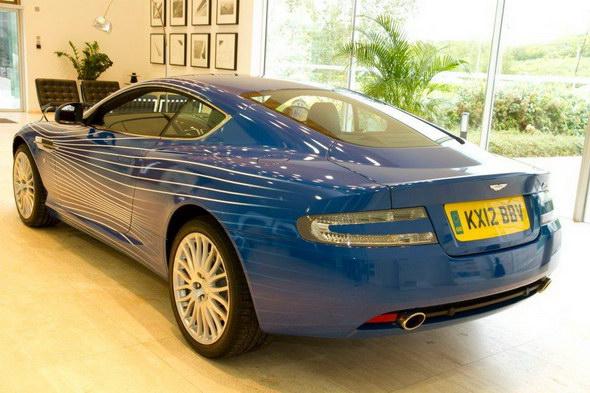 Aston Martin DB9 1M, para celebrar el primer millón de fans en Facebook