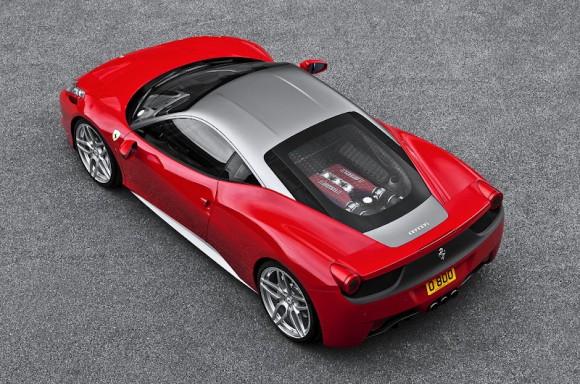 A. Kahn mete mano al Ferrari 458 Italia