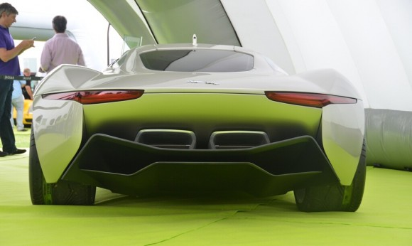 GoodWood 2012: Jaguar C-X75 Concept