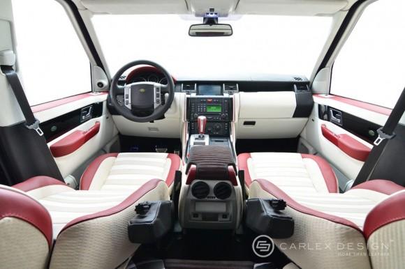 Carlex Design se insipira en Burberry para decorar el interior de tu Range Rover Sport